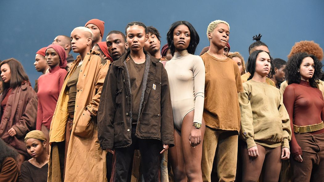 Yeezy Season 3 was reportedly inspired by a  Rwandan refugee camp .