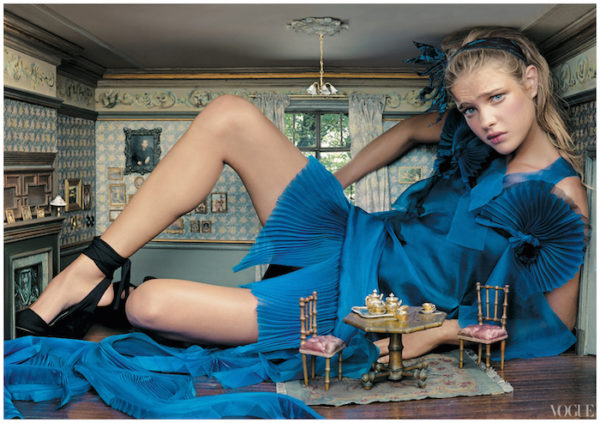 Alice in Wonder;and by Annie Leibovitz