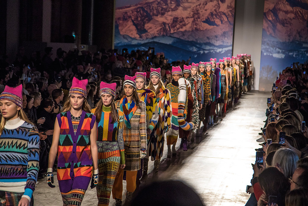 Missoni Pussy Hats as a statement for WOMEN.