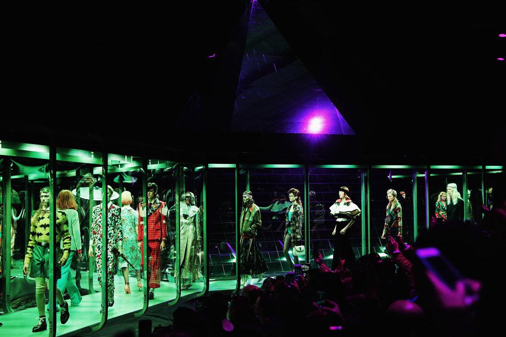 Gucci's avantgarde runway s