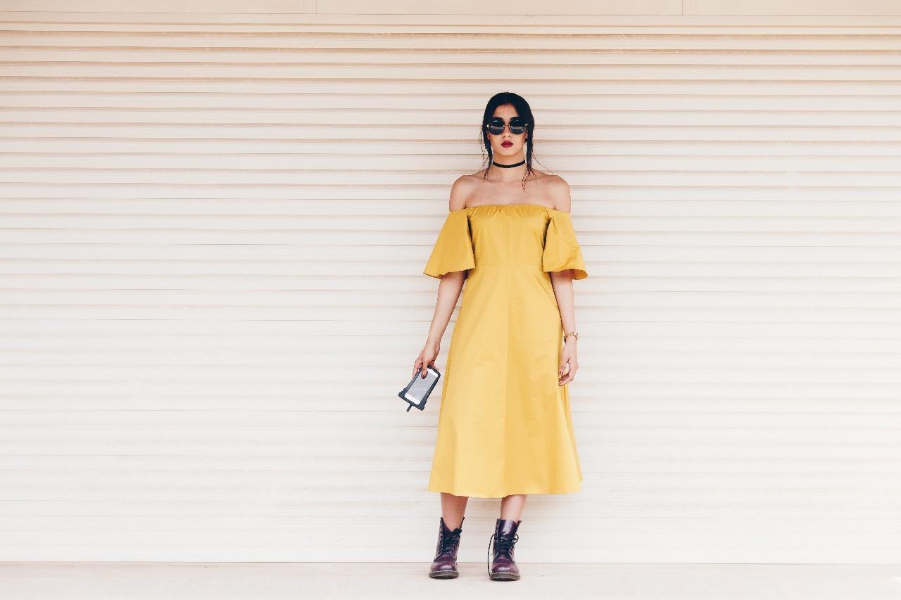 Zara dress ,  Valfre phone case ,  Casio vintage watch ,  MiuMiu shades ,  Dr. Martins