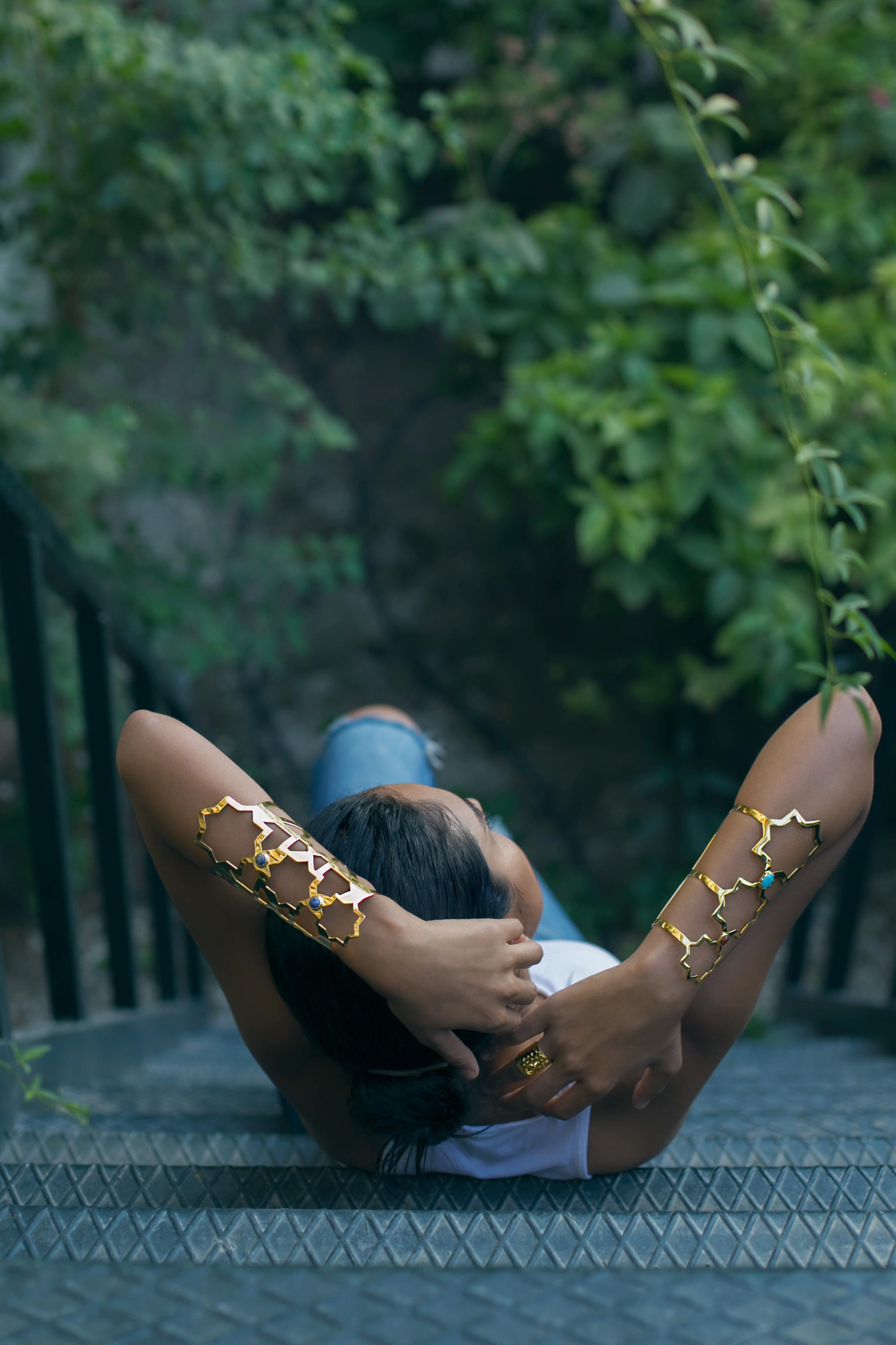 Salma Abu Deif  shot by  Aisha Al Shabrawy  for  Reem Jano .