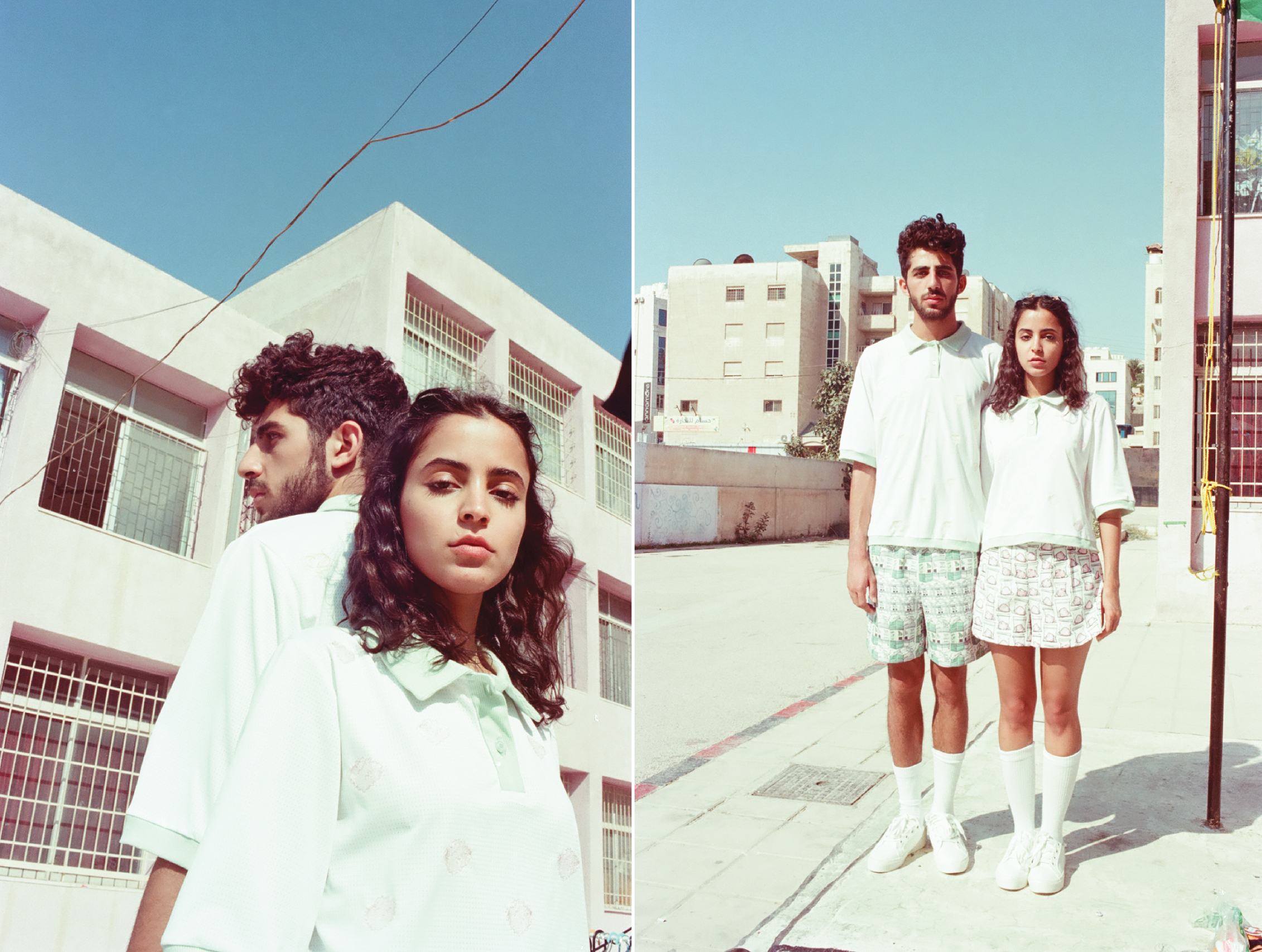 @lightsandcharlie  and  @elshab_elauthentic  shot by  @chebmoha   for  Tania George