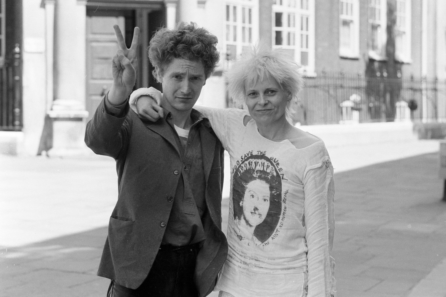 Malcolm McLaren and Vivienne Westwood. Photo: Getty Images