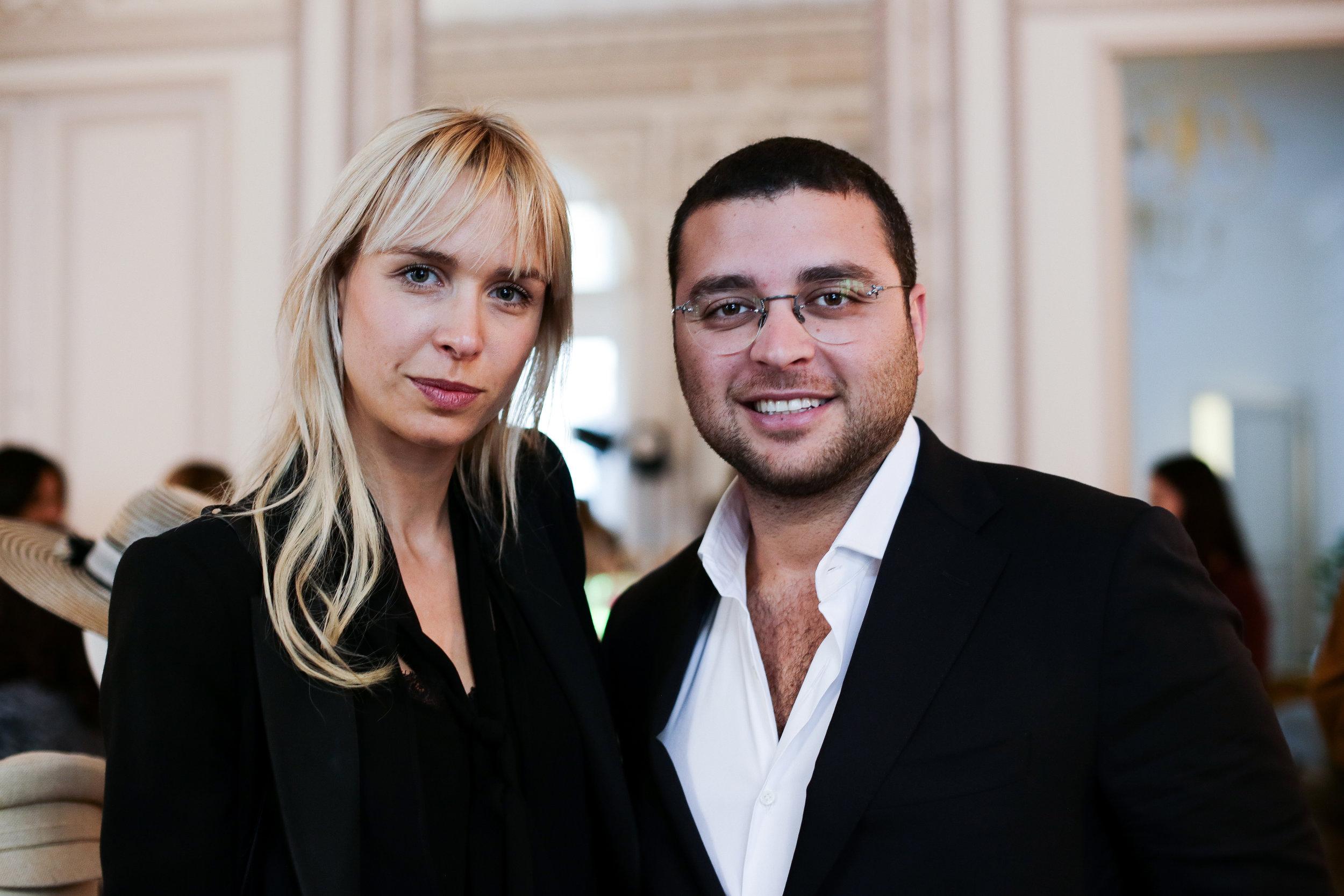 Anne Sophie Mignaux & Elie Saab Jr..jpg
