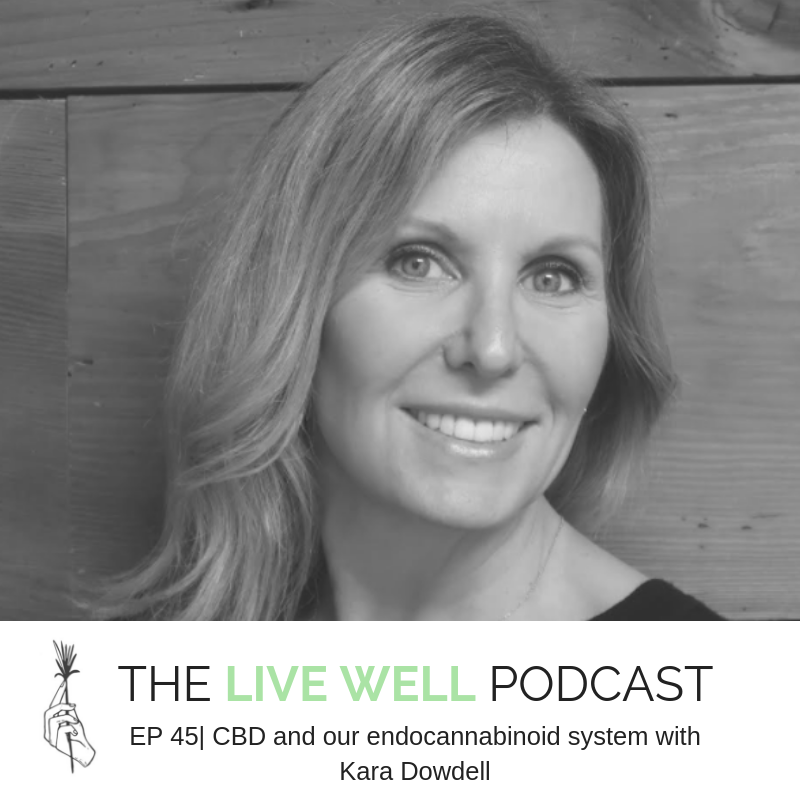CBD and our endocannibinoid system with Kara Dowdell