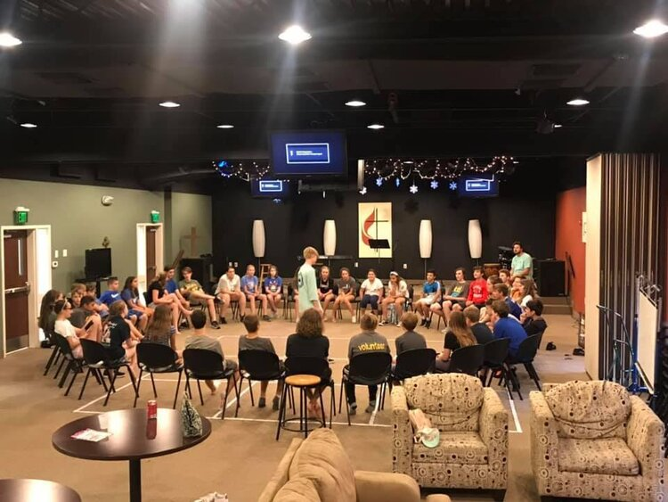 YOUTH MINISTRY     The Point Youth Ministry is for students in 6th – 12th grade. Meets on Sundays @ 5:00 pm – 7:00pm. We also have a weekly Sunday School class, Bible study, regular events, and trips.      READ MORE...