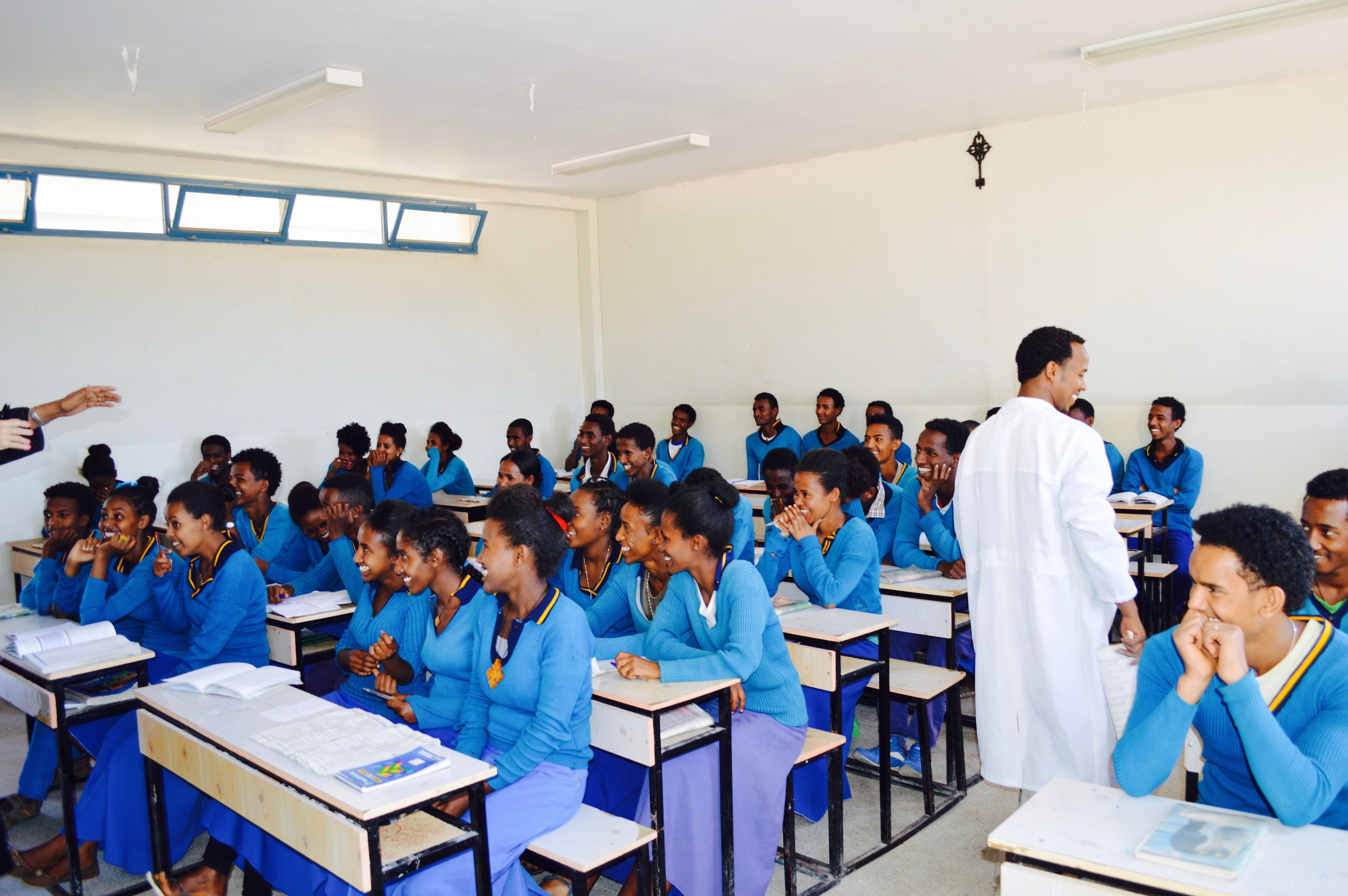 Tsinseta -Mariam Senior Secondary School - Adigrat   9th -12th Grade  823 Students  Number of teachers: 27  Cost per student: $86/£66