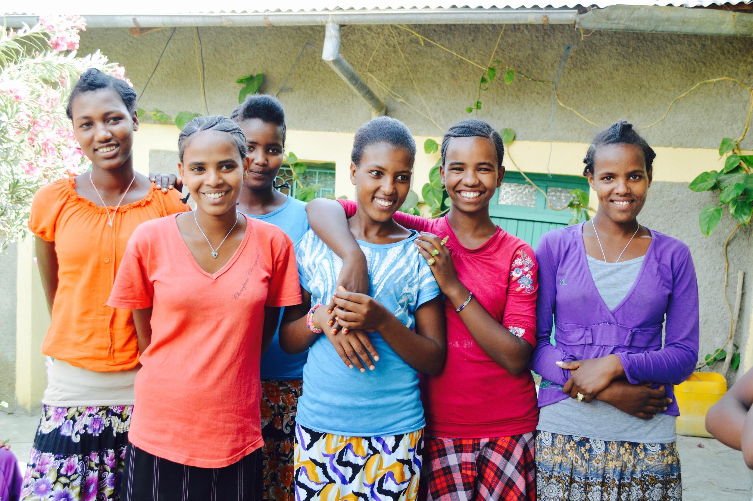 Lideta Secondary High School - Alitena   7th -10th Grade  171 Students  Number of teachers: 7  Cost per student: $106/£81