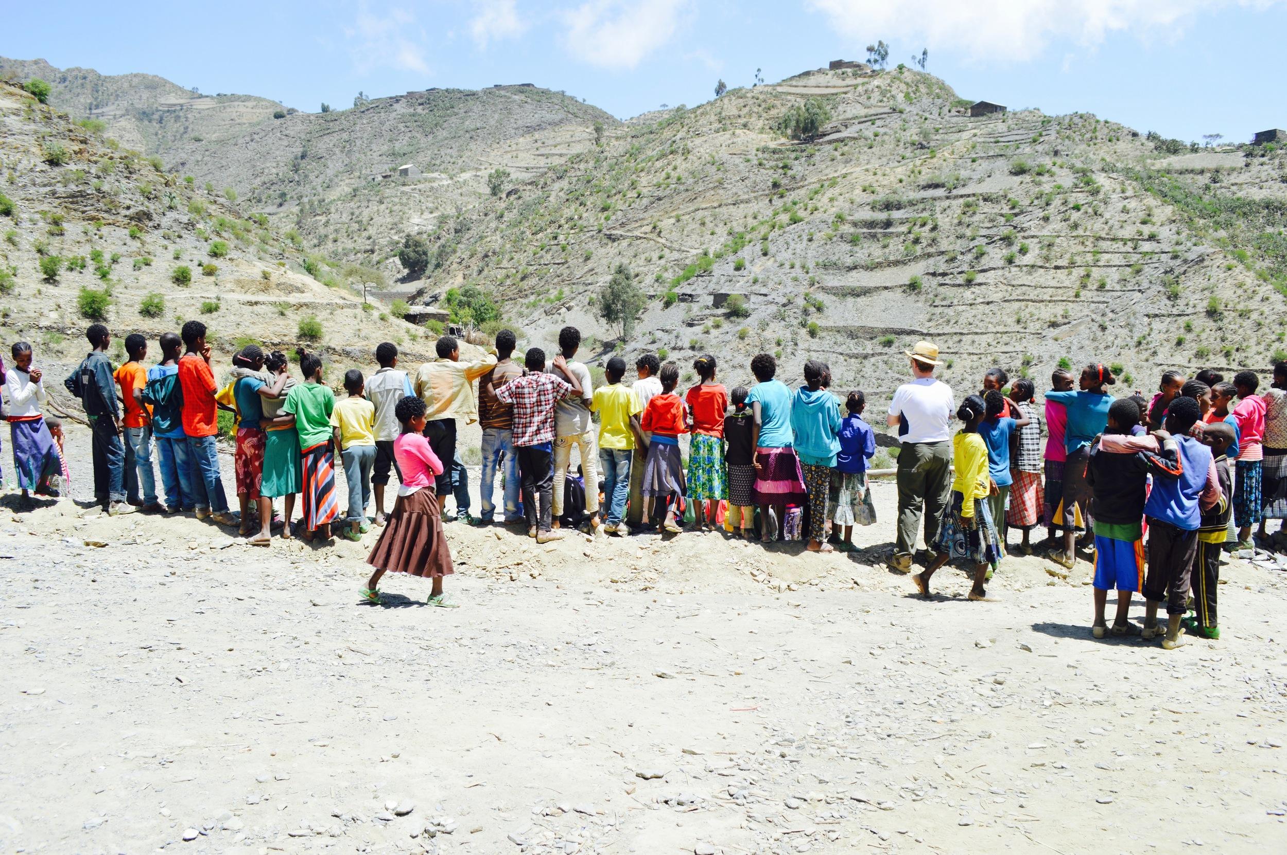 Kidane - Mihret Primary School - Engal   Kindergarden  14 Students  Number of teachers: 2  Cost per student: $128/£98