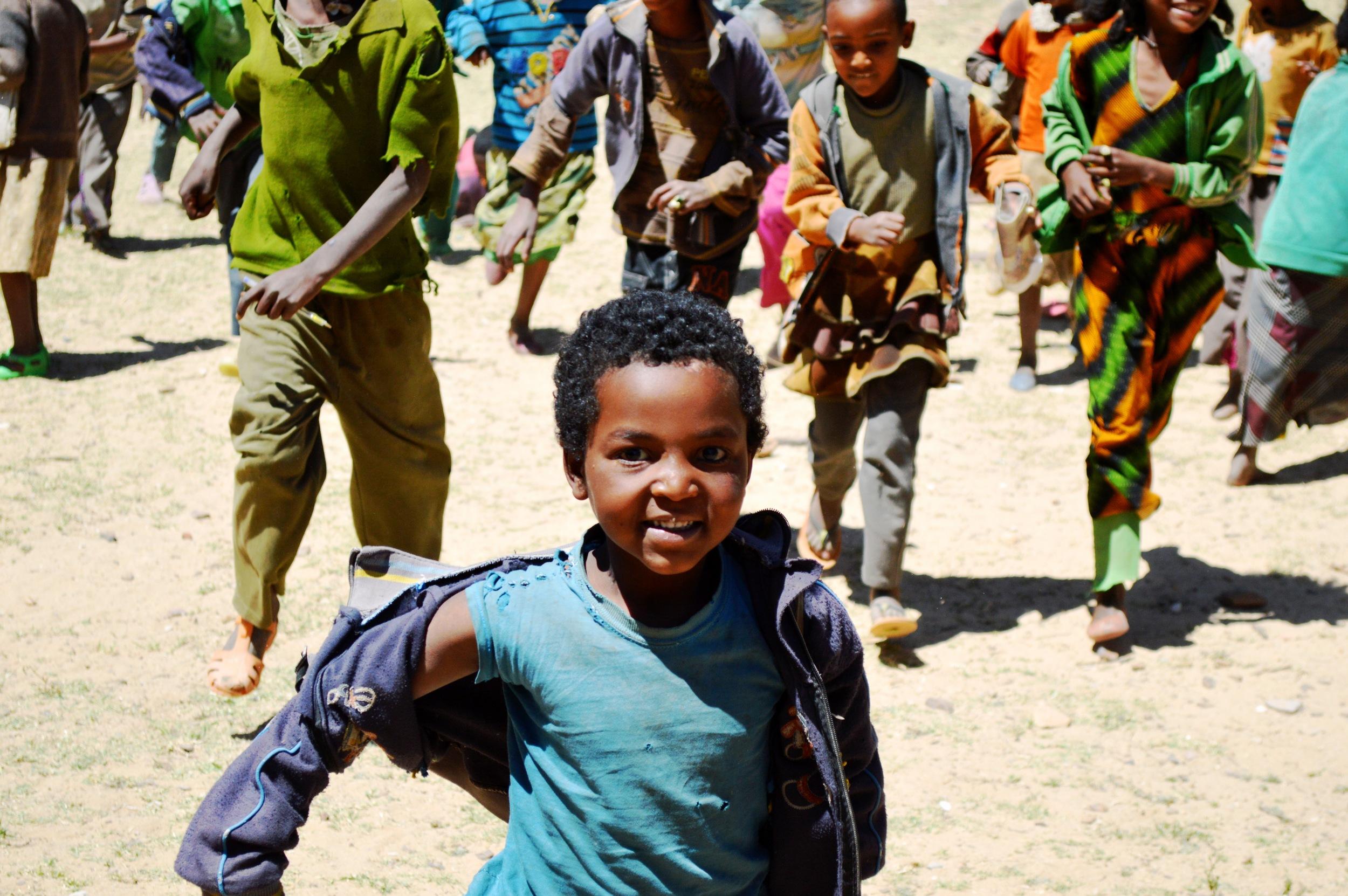 Kidan - Mihret Kindergarten School Alamata   Kindergarten  14 Students  Number of teachers: 2  Cost per student: $128/£98