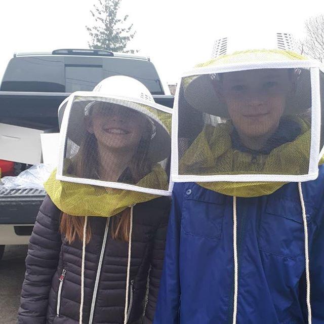 The near future is looking sweet!🐝🌻 #honey #honeybee #hive #welovehoney