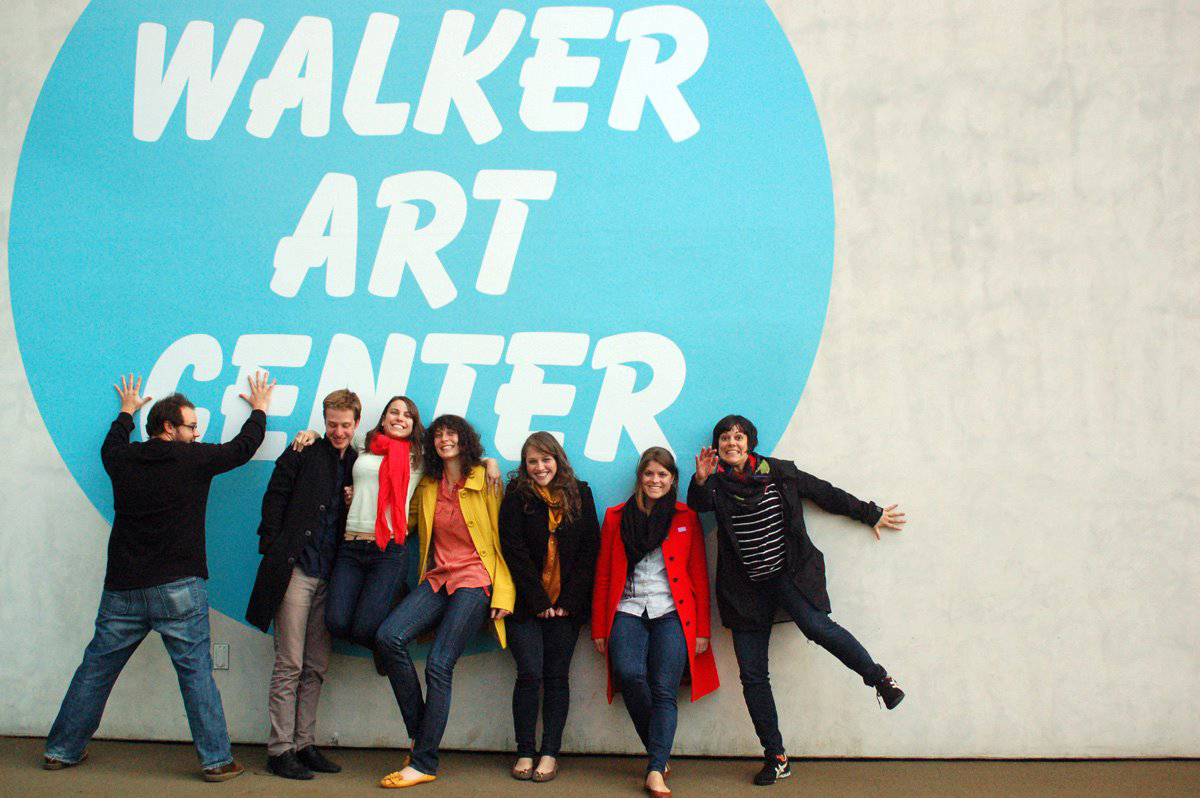 GD MFA students take a trip to the Walker Art Center