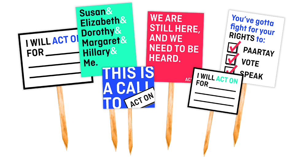 March On Sign Options
