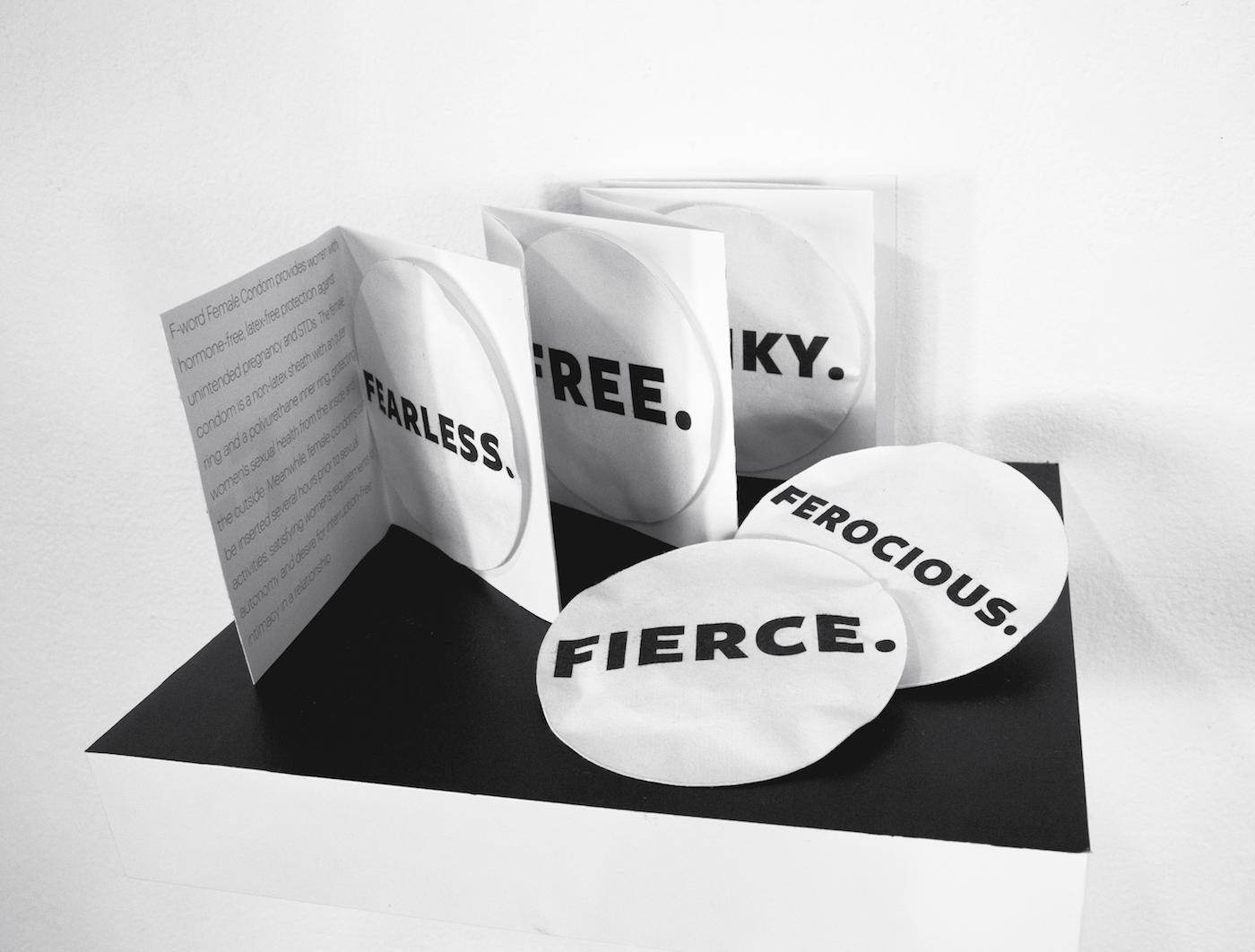 Package Design of F-word Female Condom