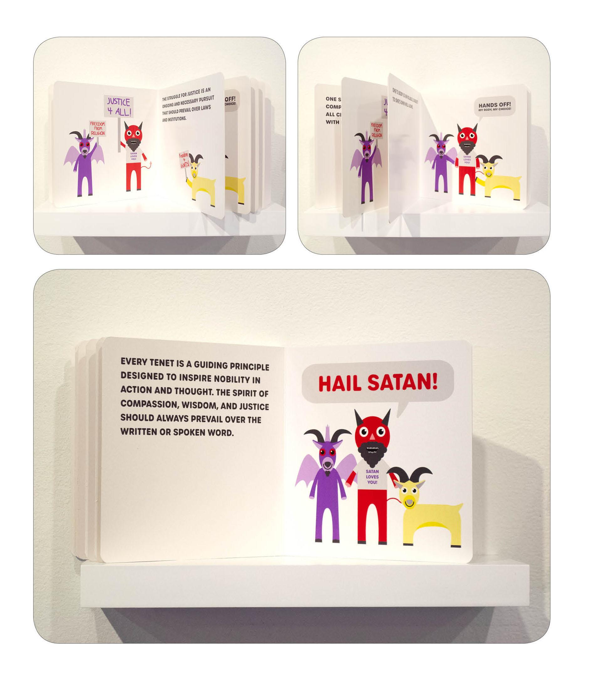 Board Book on display
