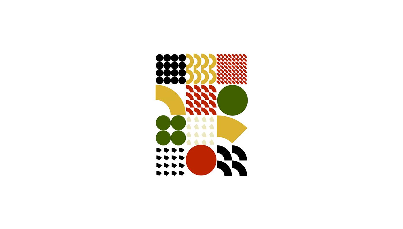 Bibimbap as pattern