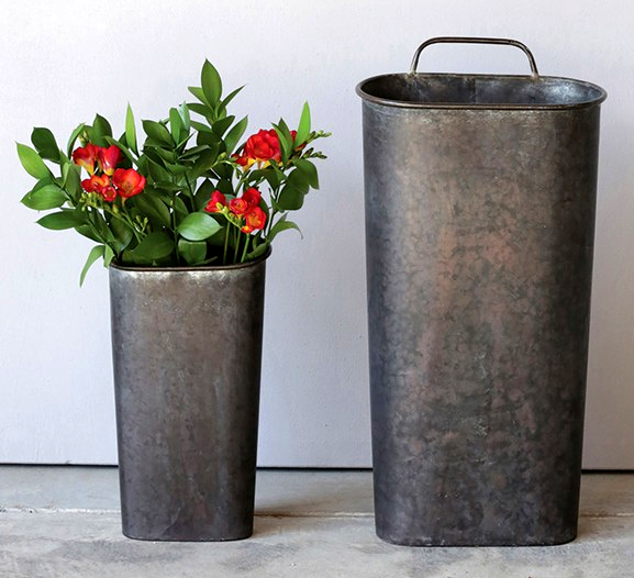 Twin Wall Buckets by Bits of Vintage