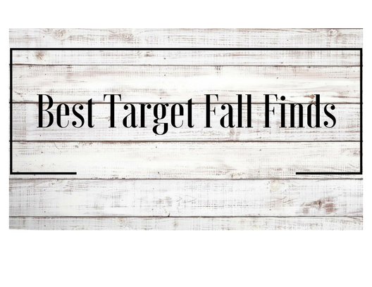 Best Target Fall Finds