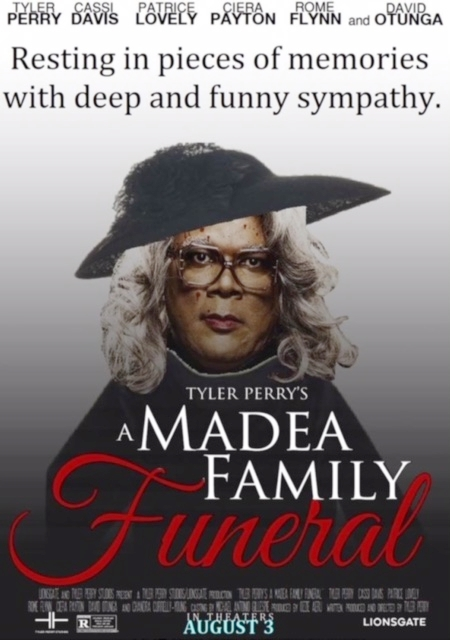 """Guilty As Charged"" in ""Tyler Perry's A Madea Family Funeral""."