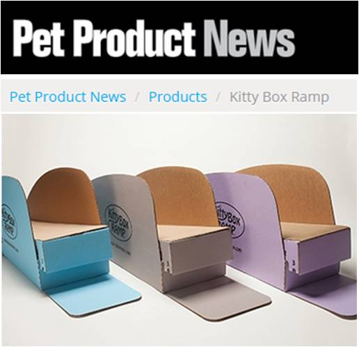 PREFERRED PRODUCTS   Kitty Box Ramp's product allows arthritic, senior and disabled cats to get in and out of the litterbox comfortably with no mess.