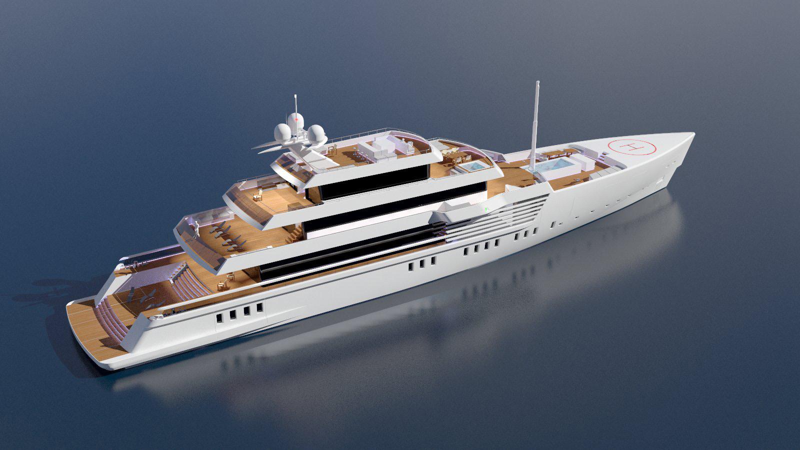 Andrea Carignani Concept Yacht Design