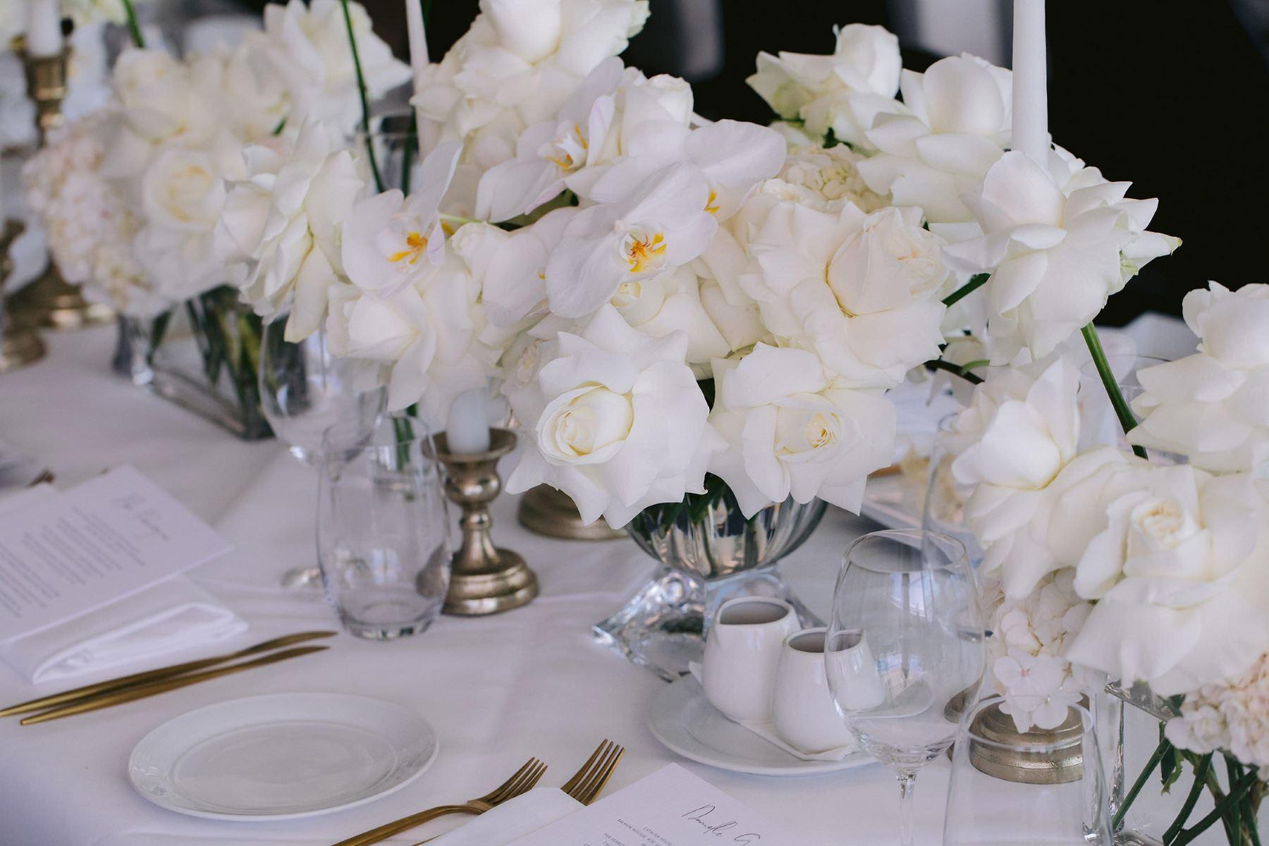 Floral arrangements by  Kashaya & Co