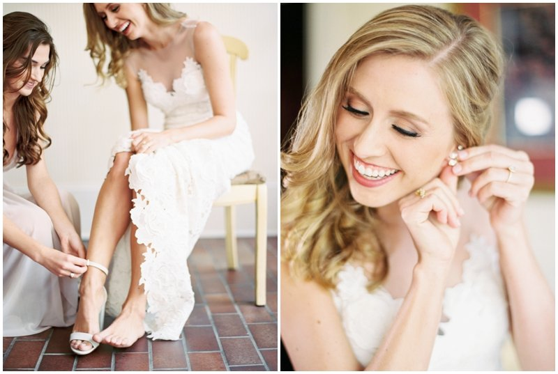 Beautiful Bride gets ready  by Top Texas Wedding Photographer Hannah Mayson