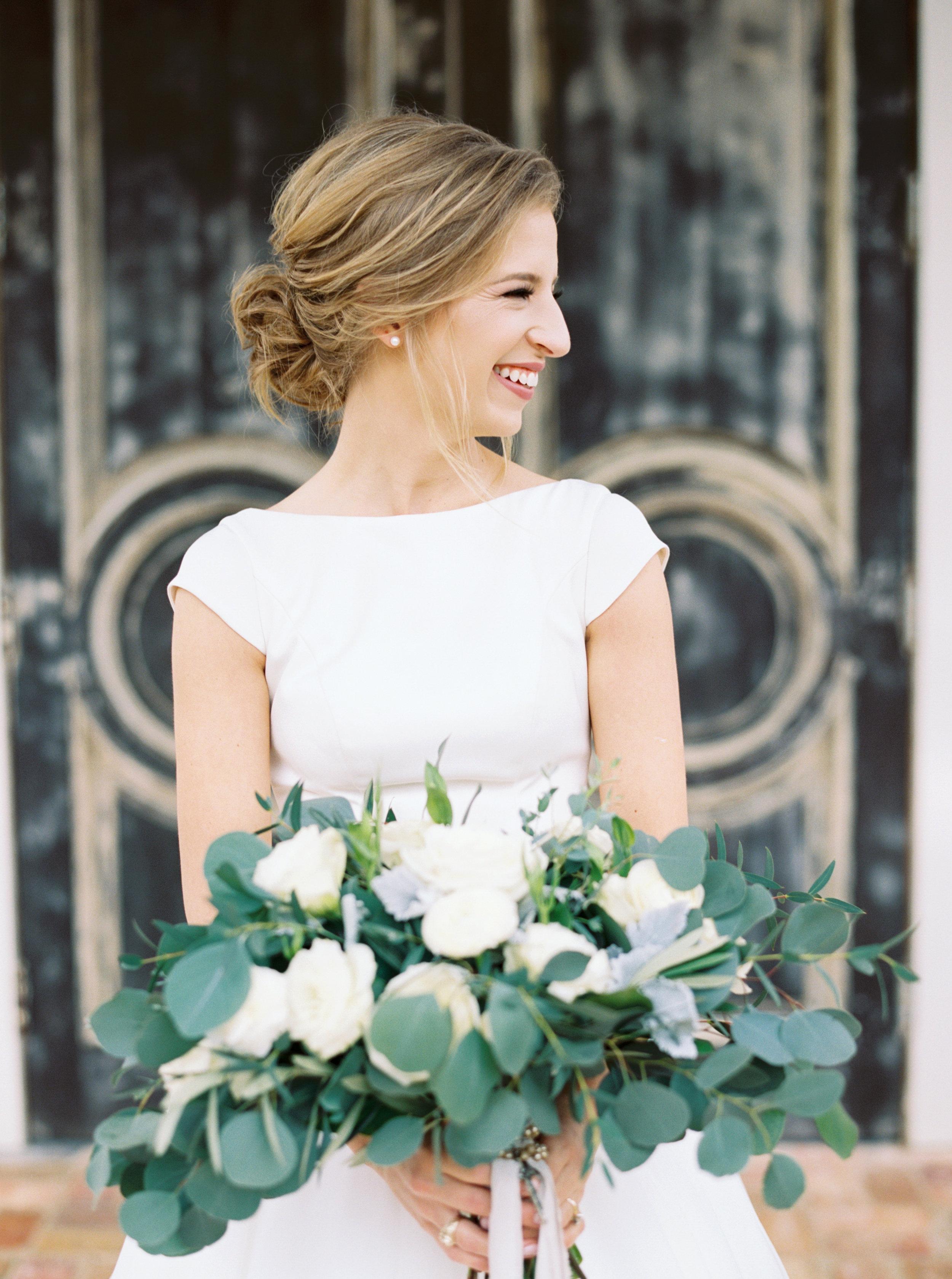 Cap Sleeve Southern Style Wedding Dress