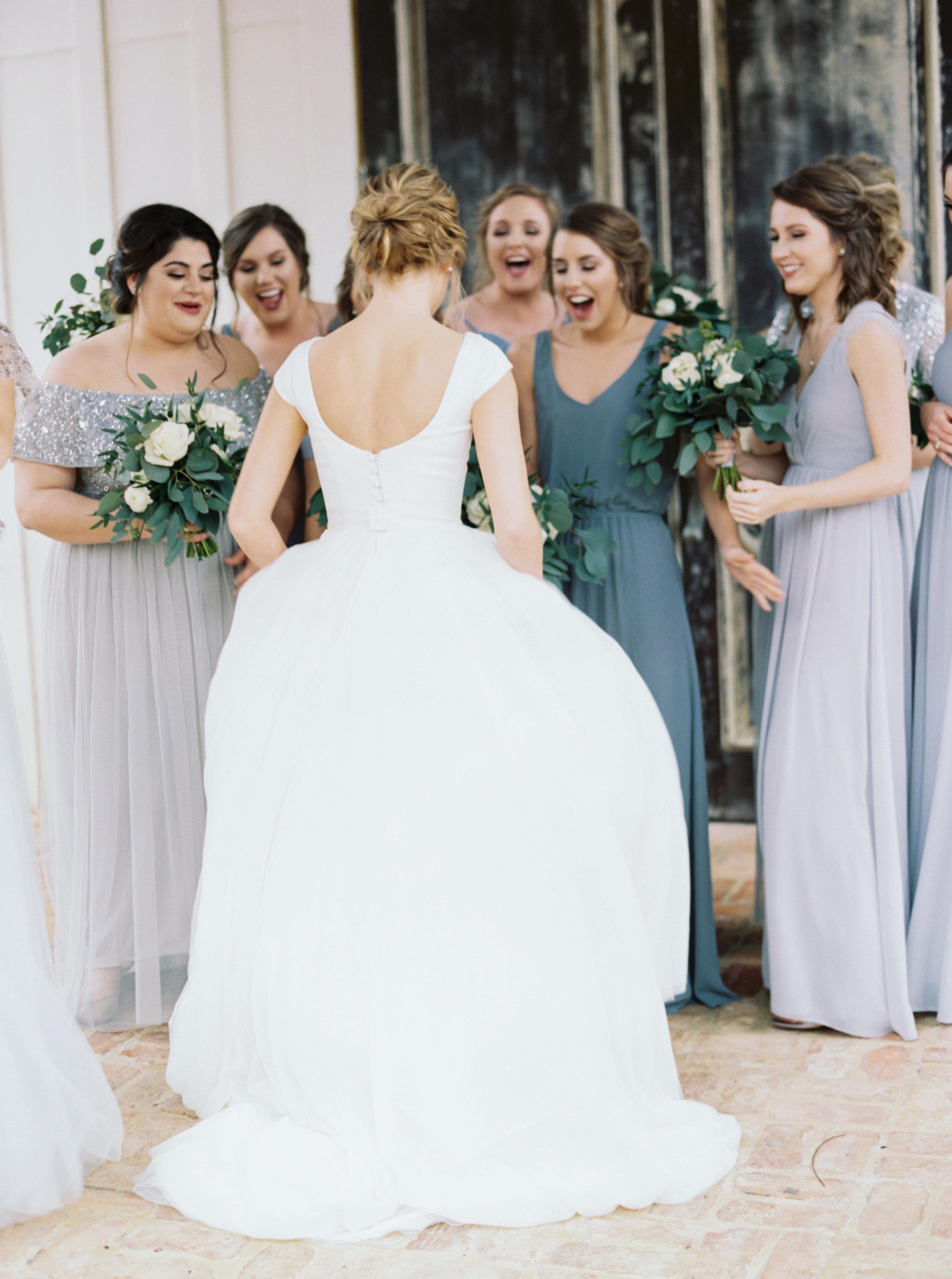 Winter Wedding, Neutral Wedding Palatte, Eucalyptus Bouquet, Cap Sleeve Dress, Rainy Wedding Day, Grey and Blue Wedding Colors, Charleston Wedding Venues, Charleston Wedding, Southern Wedding Inspiration