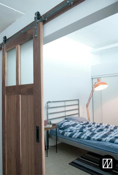 Bi-part doors