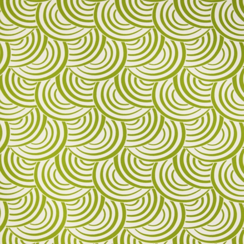 Apple Green on White