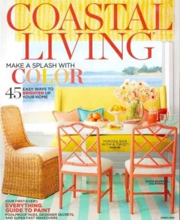 Coastal Living March 2016