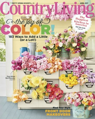 Country Living April 2017