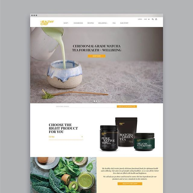 Our fresh, new site is live!!! Its been a long time in the works and I am excited and proud to see the new Healthy Chef website go live. Experience a contemporary and considered design approach and elevated user experience that reflects the Healthy Chef brand and philosophy. UI Design by Lauren Lepore Creative. Visit https://thehealthychef.com