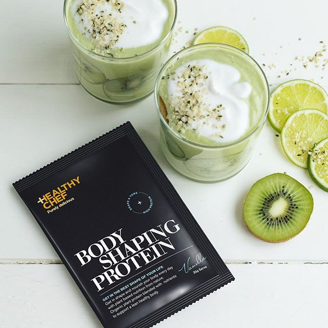 New Body Shaping Packaging by the Healthy Chef and Lauren Lepore Creative
