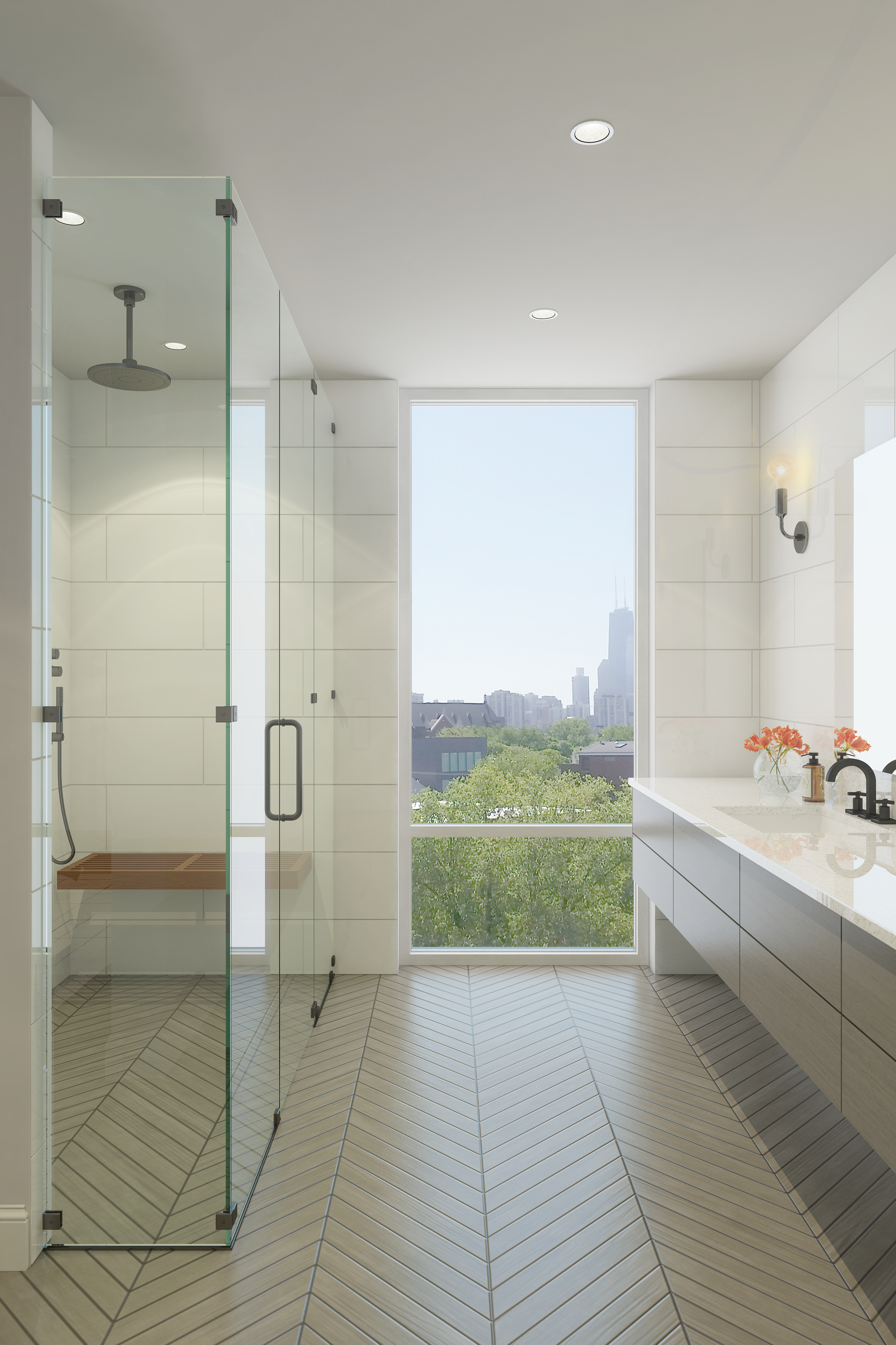 Rendering - Penthouse - Master Bathroom - 1615 Burling 2.jpg