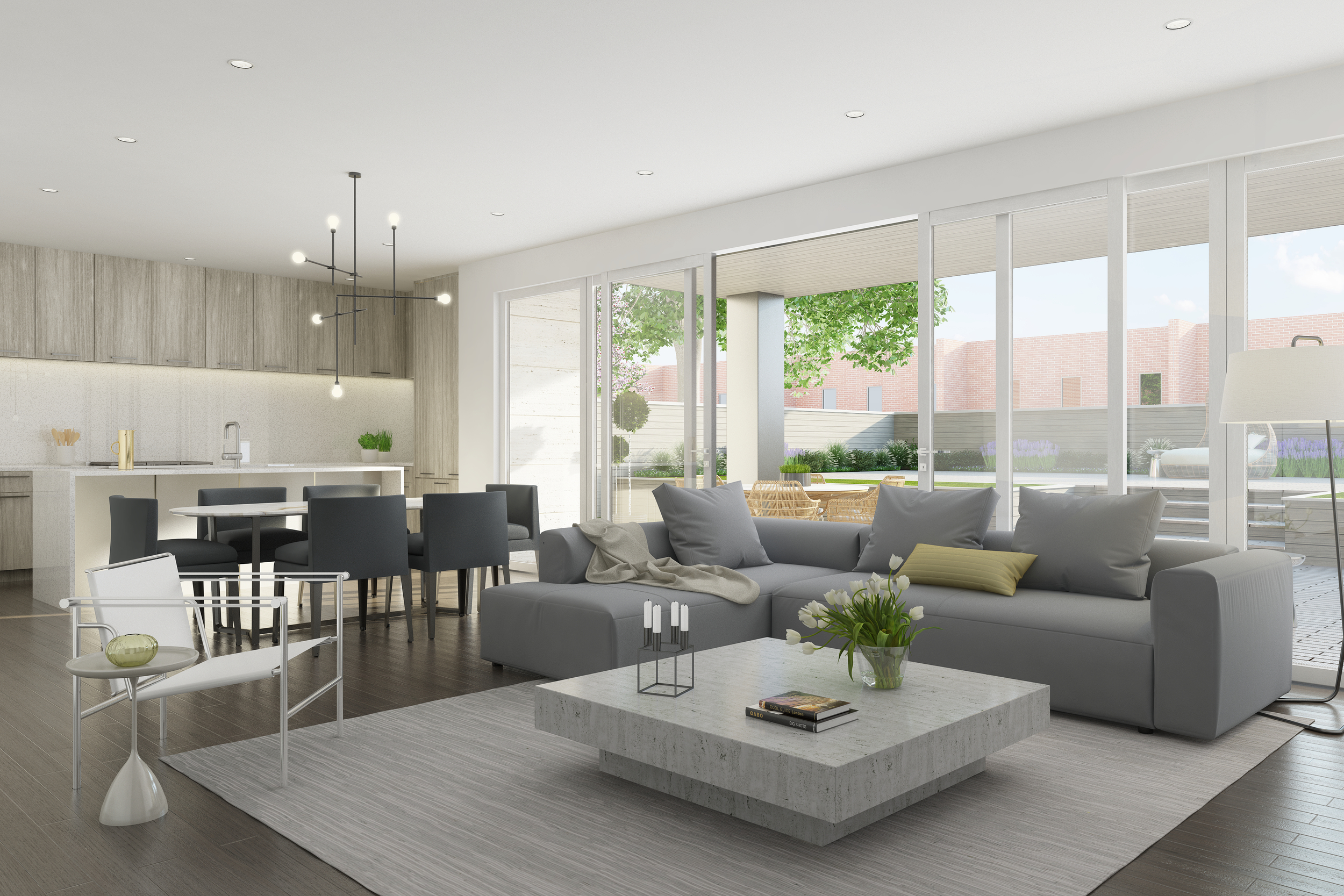 Rendering - Unit 104 - Interior - 1615 Burling.jpg