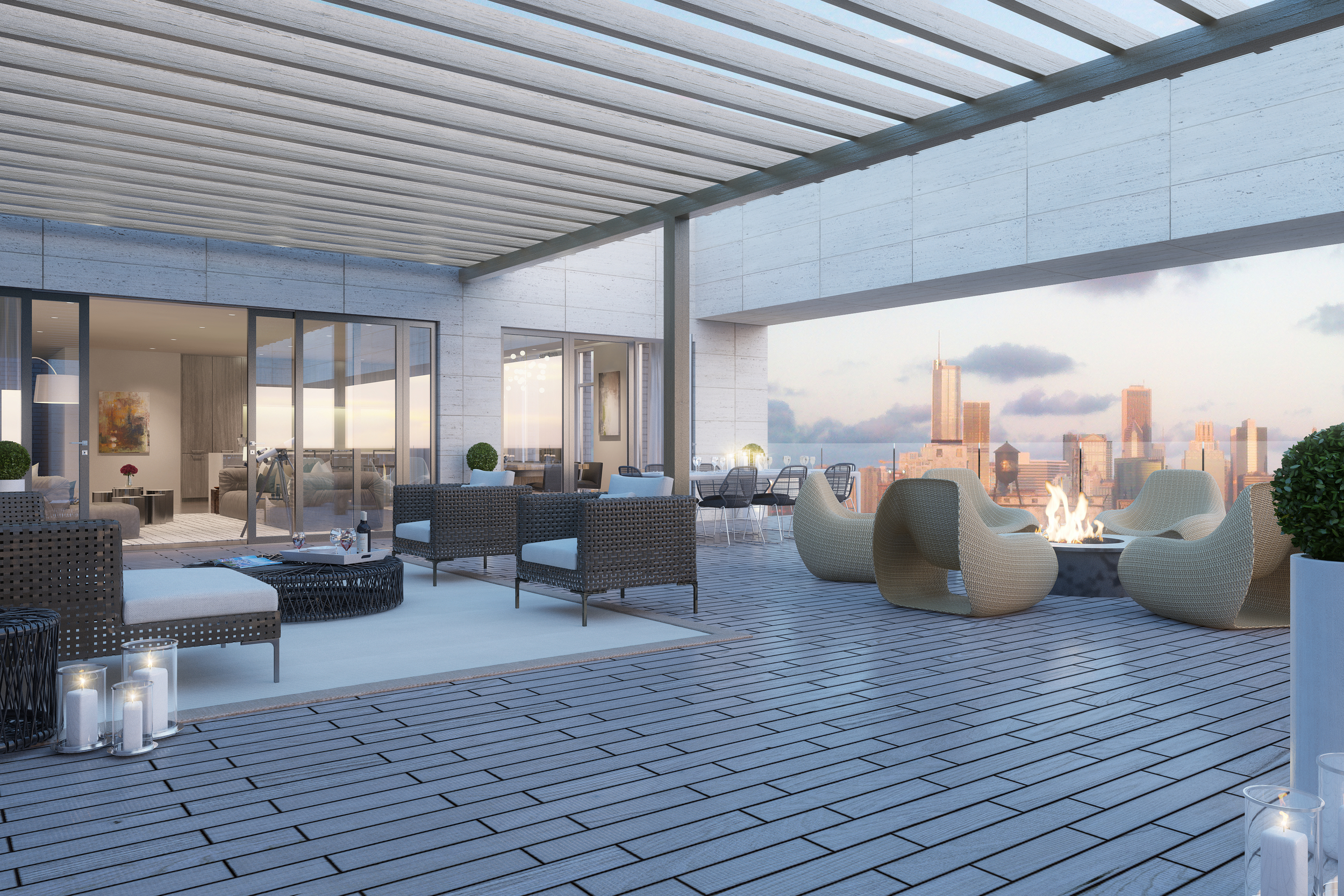 Rendering - Penthouse - Terrace - 1615 Burling.jpg