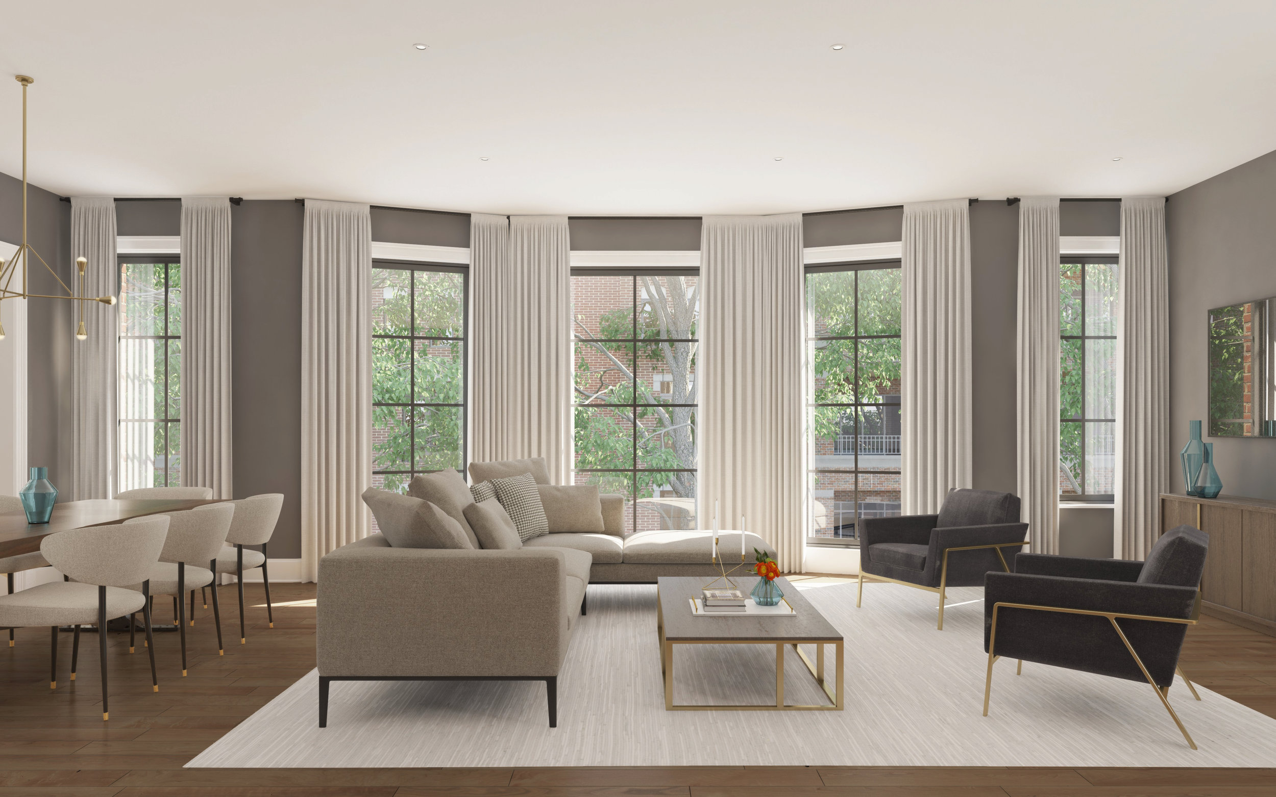 Living Room - Unit 2E & 3E - Arlington.jpg