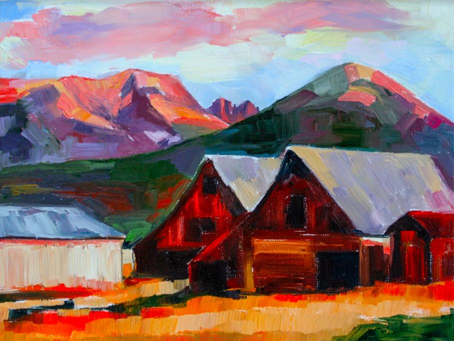 Sangre De Cristo Mountains, Colorado Sheila Dunn Art Journal