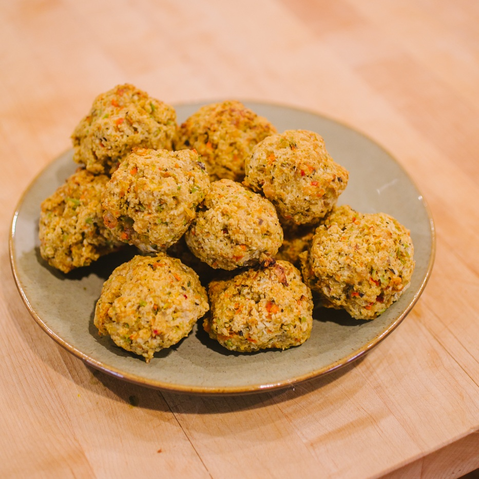 Finely nourished, Simple Healthy Meatballs Recipe