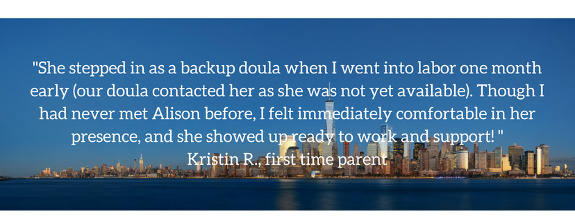 Backup Doula Services — NYC DOULA CARE