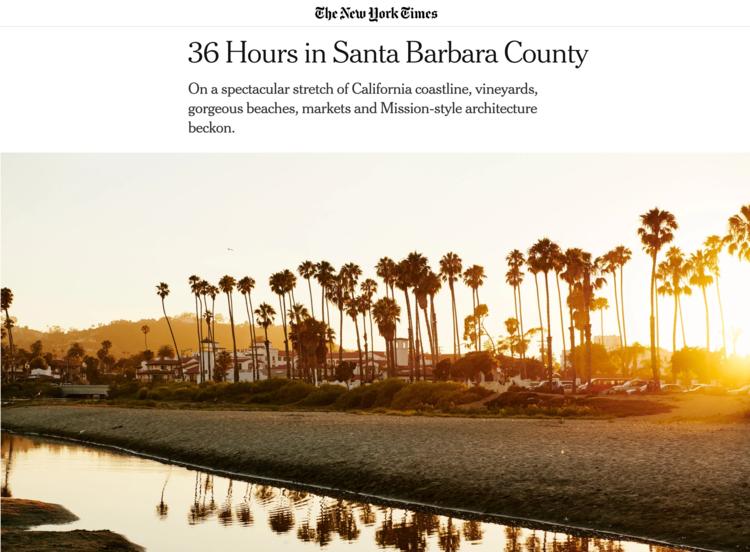 36 Hours in Santa Barbara - NYT