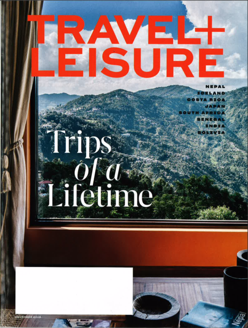 Travel and Leisure - Trips of a lifetime