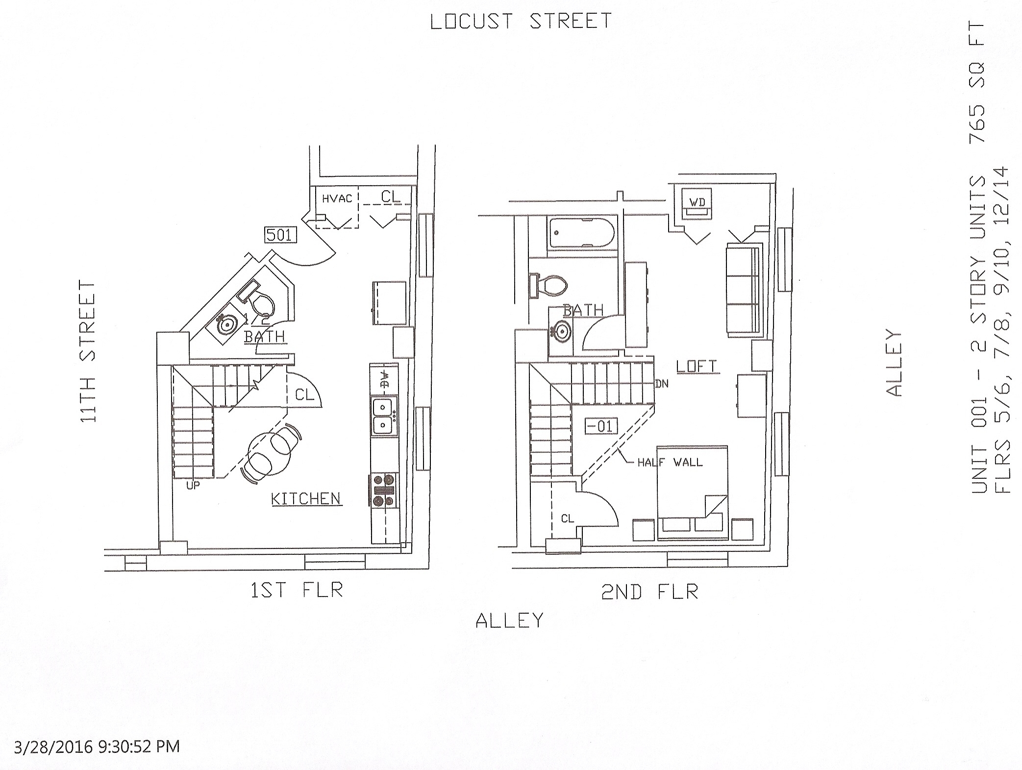 Unit 01, 765 Square Feet