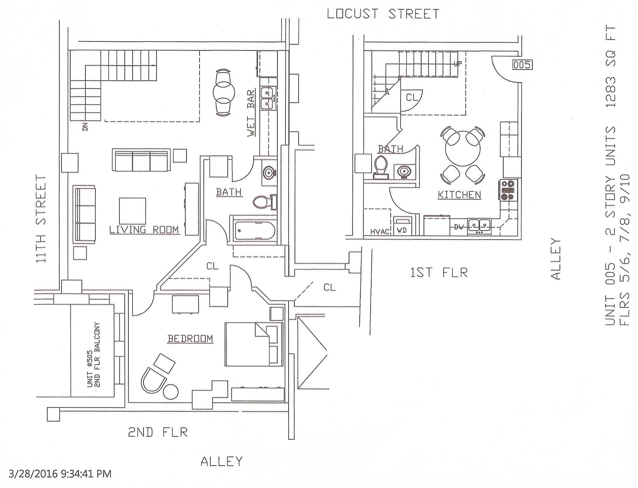 Unit 05, 1283 Square Feet