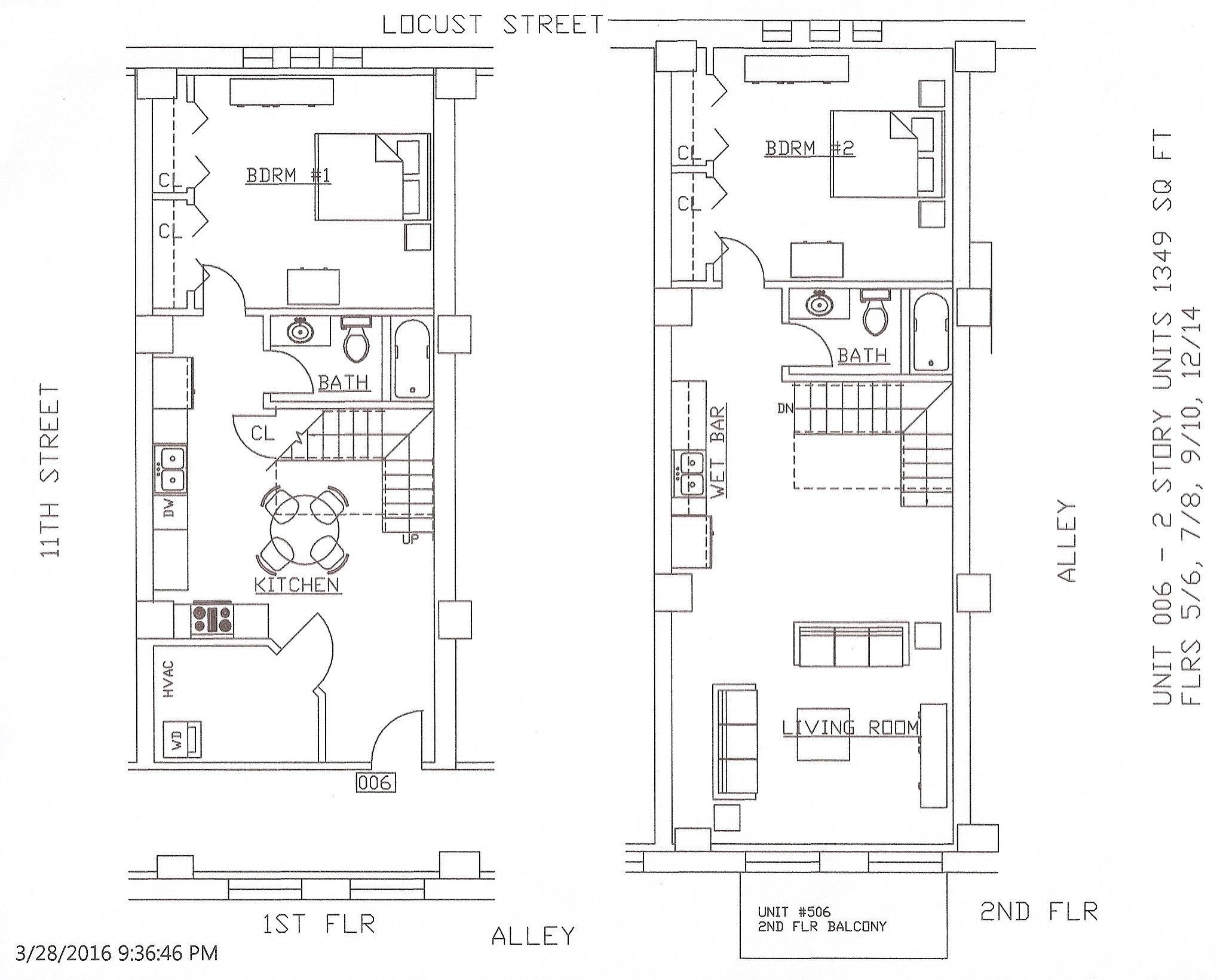 Unit 06, 1349 Square Feet
