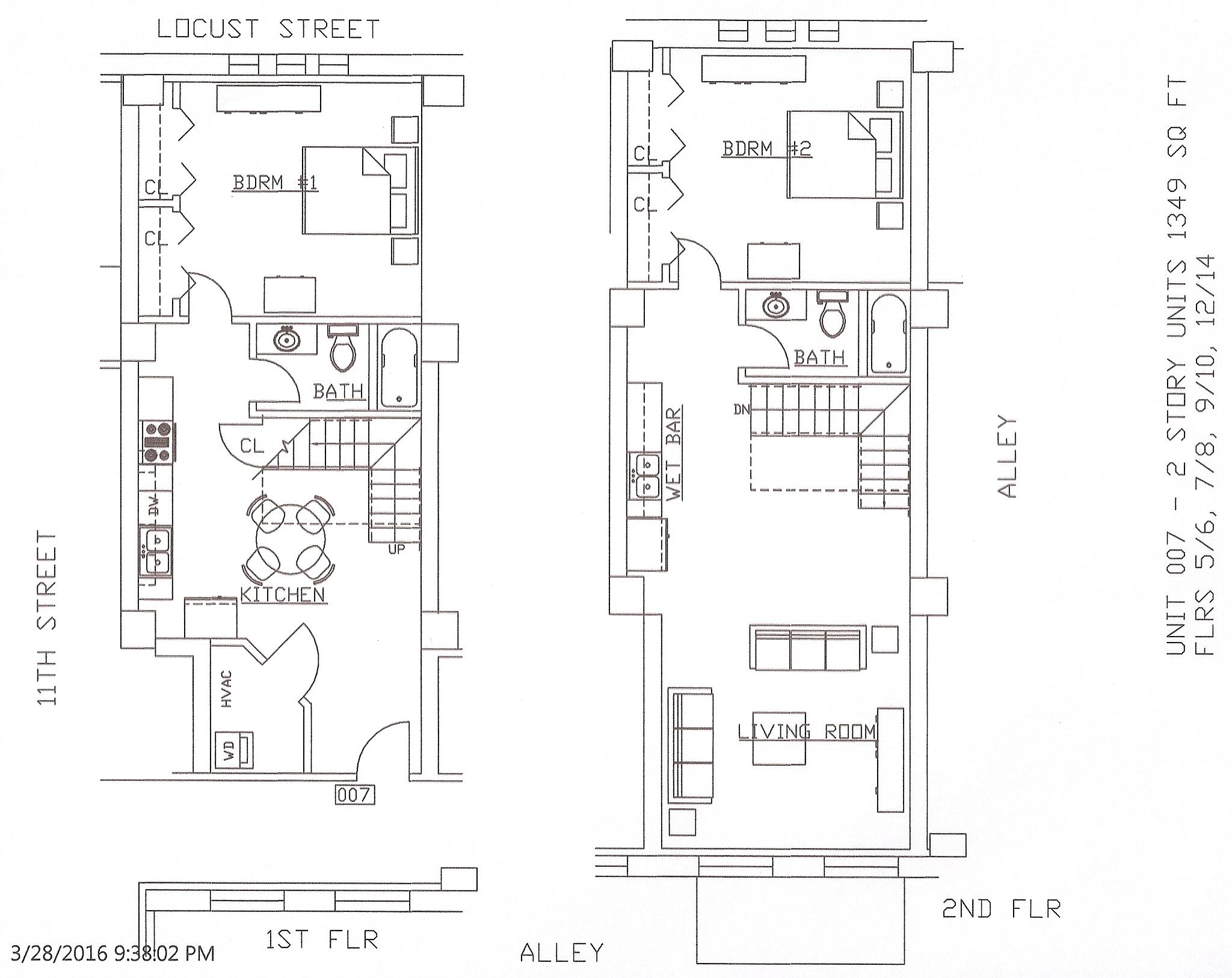 Unit 07, 1349 Square Feet
