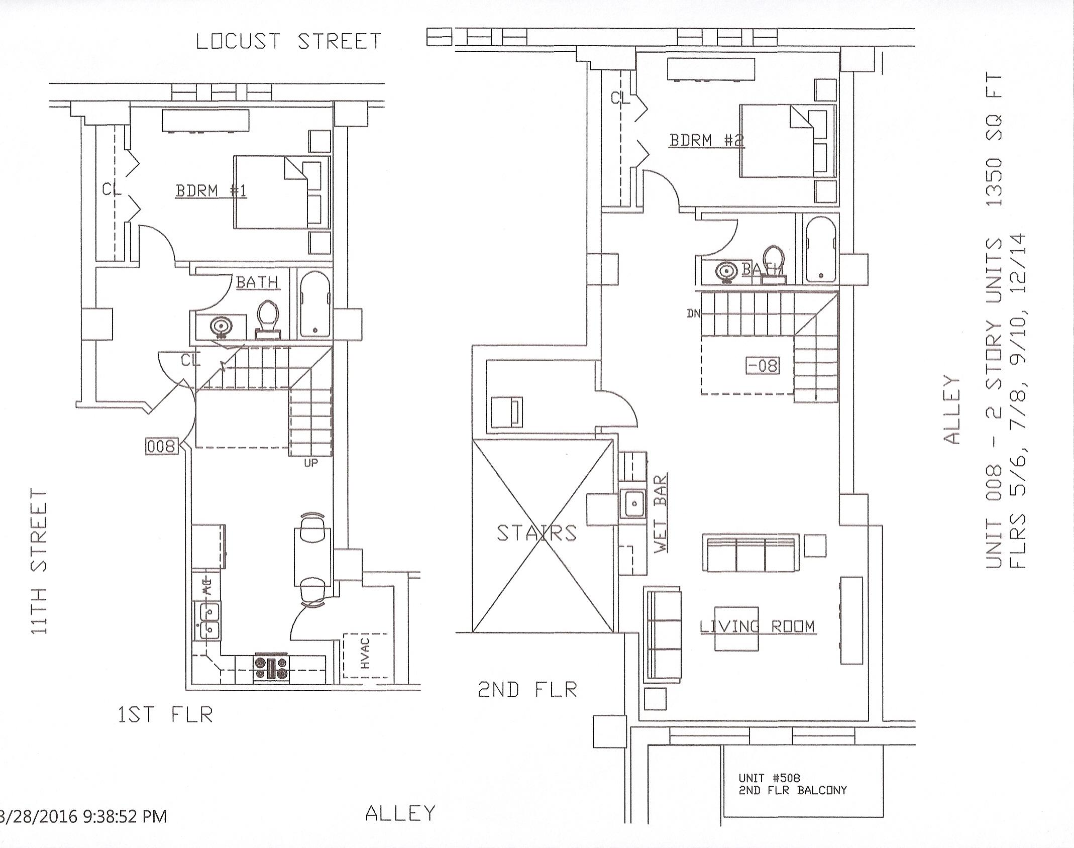 Unit 08, 1350 Square Feet